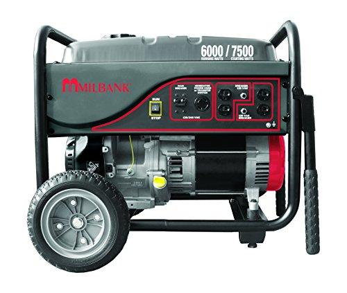 Milbank MPG6000S Storm Responder Portable Generator, 6,000 Watt Milbank B00NIYWB1G