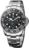 DOLCE SEGRETO (ドルチェ・セグレート) 腕時計 ブラック SC100BKM メンズ