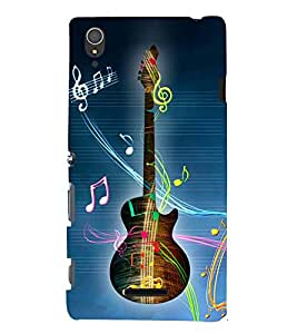 Gutarist Music Singer 3D Hard Polycarbonate Designer Back Case Cover for Sony Xperia T3