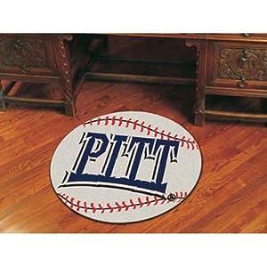 Fanmats Pittsburgh Panthers Baseball-Shaped Mat by Fanmats