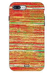 Colorful Grunge - Pattern - Hard Back Case Cover for iPhone 7 - Superior Matte Finish - HD Printed Cases and Covers