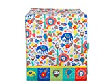 Chumbak Character Jungle of Love Cotton Four Seater Table Runner - Multicolor