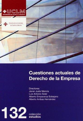 Cuestiones actuales de Derecho de la Empresa (ESTUDIOS)