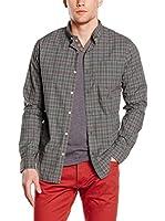 New Caro Camisa Hombre Veracini (Verde)