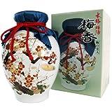 梅酒 梅香 多治見焼(実入り) 1000ml陶器