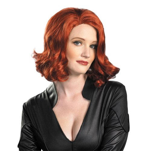 Black Widow Wig Avengers Costume Wig 43726