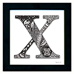 X Monogram Pen & Ink