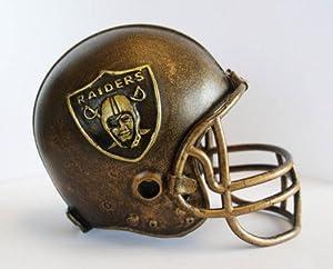 NFL Oakland Raiders Desktop Helmet Statue by Wild Sports