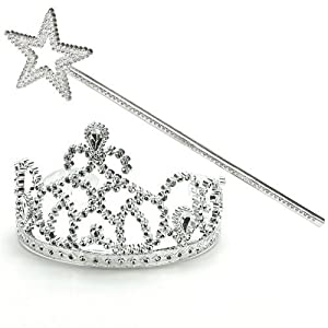 Princess Tiara & Wand Set (1) Party Supplies