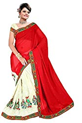 Saree In Saree Kachhi Work Saree Sold By Geet Fashion Solution