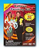 Will Roya's Deluxe Balloon Twisting Kit with DVD, Inflator and Balloons.  This kit contains everything you need to become a balloon entertainer!  Learn over 40 figures the easy way - watch and learn while Will shows you how it is done.