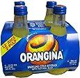 Orangina Sparkling Citrus Beverage with Pulp (4 PACK) Bottles