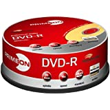 "PRIMEON DVD-R 16X 120min / 4,7GB LightScribe Version 1.2 25er Spindelvon ""PRIMEON"""