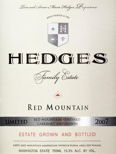 2007 Hedges Family Estate Single Vineyard Limited Cabernet Sauvignon 750 Ml