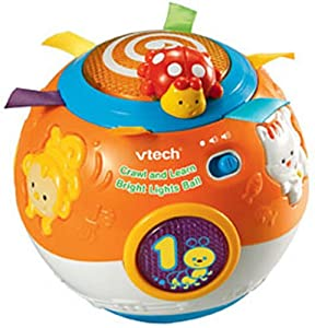 VTech Crawl and Learn Bright Lights Ball (Orange)