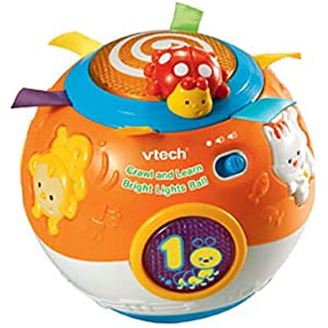 Vtech Crawl And Learn Bright Lights Ball Uk Best Toys