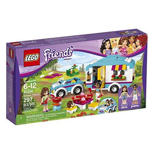 LEGO Friends Summer Caravan 41034 Building Set (Discontinued by manufacturer) (Lego Friends Adventure Camper compare prices)