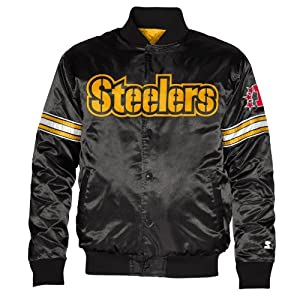 Pittsburgh Steelers Starter Satin Jacket by G-III Sports