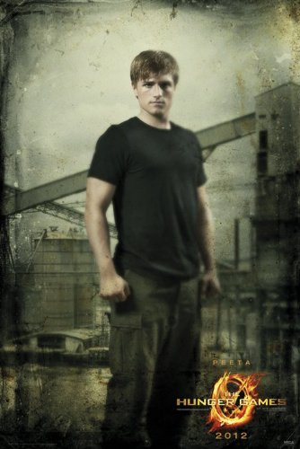 (24x36) The Hunger Games - Peeta In District 12 Movie Poster