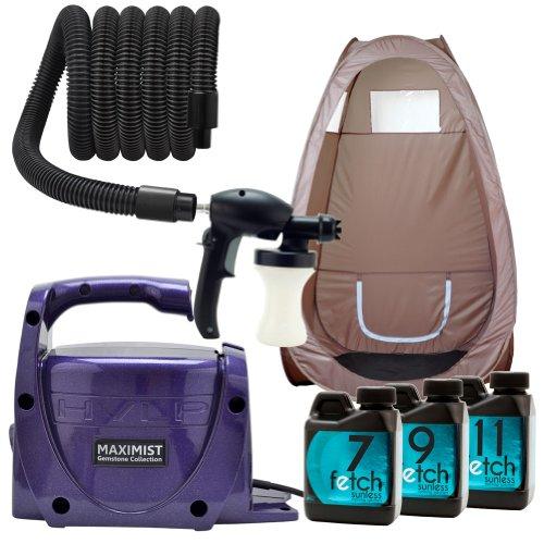 Amethyst Maxi Mist Xl Spray Tan Hvlp Machine Fetch Dha Indoor Brown Tent Kit 1A front-433034