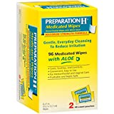 Preparation H Wipes Refill, Medicated, 96 Count