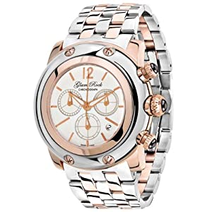 Glam Rock Unisex GR10162 Miami Collection Chronograph Stainless Steel Watch
