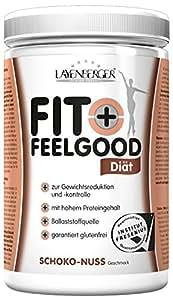 Layenberger Fit+Feelgood Schlankdiät Schoko-Nuss, 3er Pack (3 x 430 g)