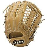 asics(アシックス) 野球 ジュニア軟式用グローブ(外野手左投げ用) ゴールドステージ BGJ5LU ゴールデンプラウ/ホワイト RH