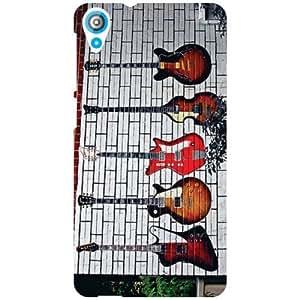 Htc Desire 820Q-Strings Matte Finish Phone Cover