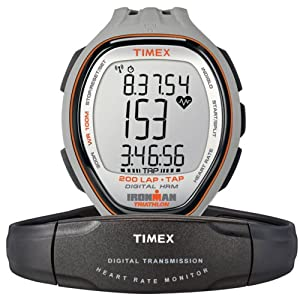 Timex Full-Size T5K546 Ironman Target Trainer Heart Rate Monitor Watch