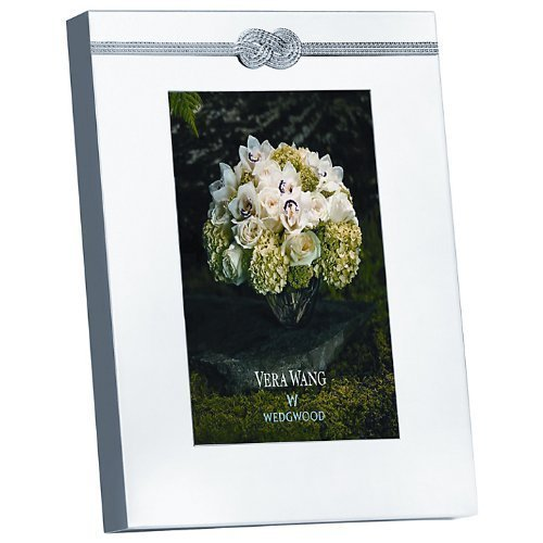 Vera Wang by Wedgwood - Cornice argentata 20x23 cm Infinity