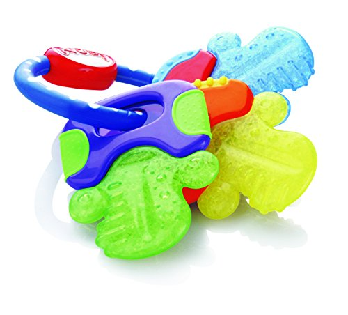 Nuby ID455 Chiavi Massaggiagengive con Ice-Gel