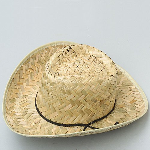 One Adult Size Straw Cowboy Hat