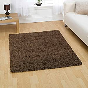 Flair Rugs Nordic Cariboo Shaggy Rug, Brown, 160 x 230 Cm from Flair Rugs
