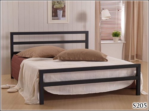 BRAND NEW 4ft 6 METAL BLACK DOUBLE SIZE BED FRAME