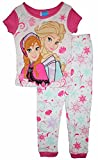 Disney Frozen Little Girls Tight Fit Cotton Pajama Set