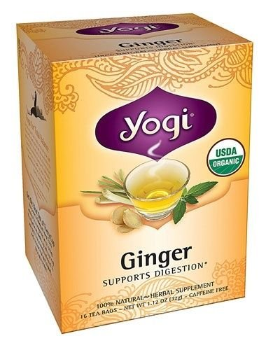 Yogi Teas / Golden Temple Tea Co Ginger Tea 16 Bag