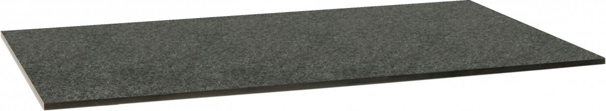 Dreams4Home Tischplatte 'Sola' - Tischplatte, Tischplatte für Gartentisch, Esstischplatte, Balkonmöbel, Gartenmöbel, Terrassenmöbel, Wintergartenmöbel, B/H/T: 160 x 73 x 90 cm, Granit gebürstet - in dunkelgrau