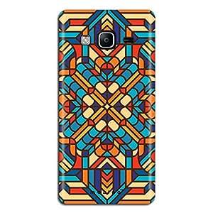 Mozine Carom Board Pattern printed mobile back cover for Samsung Z3