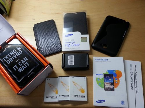 Samsung Galaxy Note Carbon Blue SGH-i717 4G LTE