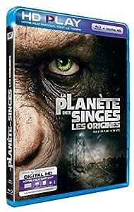 La Planète des Singes : Les origines [Blu-ray]