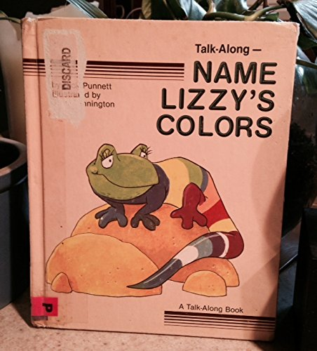 Name Lizzy's Colors (Talk Along Bks)