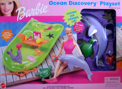 Barbie Ocean Discovery Playset (1999) - Buy Barbie Ocean Discovery Playset (1999) - Purchase Barbie Ocean Discovery Playset (1999) (Barbie, Toys & Games,Categories,Dolls,Playsets,Fashion Doll Playsets)