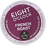Eight O'Clock Ground Coffee, French Roast, 4.1 Ounce (Pack of 6)