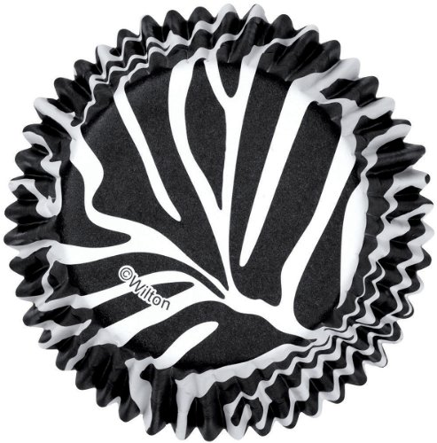 Standard Clearcup Baking Cup-Zebra 36/Pkg - Wilton-Colorcups Baking Cups. Colorcups Are Specially Designed To Keep Colors From Fading During And After Baking. These Paper Baking Cups Have Foil-Lined