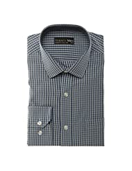 Today's Men Men's Formal Shirt Double Fused Collar ( Grey )