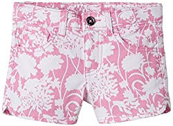 United Colors of Benetton Baby Girls Shorts (15P4MU5596O0G9021Y_Pink_12-18 months)