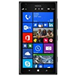 Nokia Lumia 1520 GSM Unlocked RM-937 4G LTE 16GB Windows 8 Smarphone – Black – International Version No Warranty