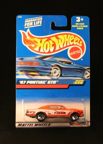 '67 PONTIAC GTO * ORANGE * 2000 HOT WHEELS Basic Car 1:64 Scale Series * Collector #226 * - 1