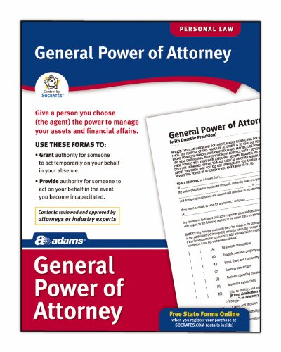 Adams General Power of Attorney, Forms and Instructions (LF205)